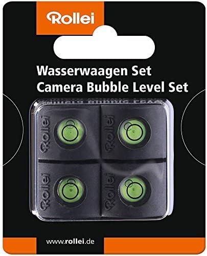 Rollei Wasserwaagen Set Aufsteckwasserwaage Zum Korrekten Ausrichten Der Kamera Für Den Blitzschuh 4 Er Pack