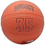 Spalding OKC Oklahoma City Thunder Jersey Outdoor Rubber Basketball (Kevin Durant)