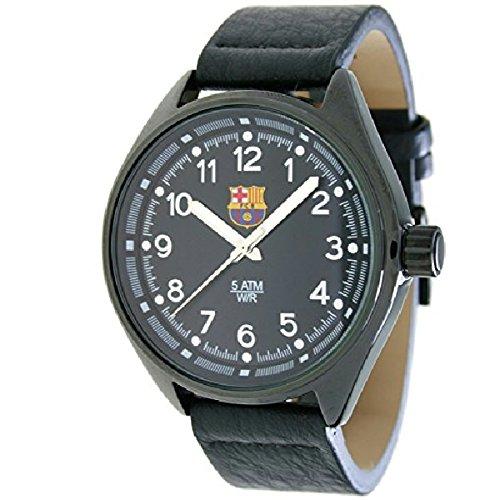 RADIANT Reloj analógico de caballero F.C.BARCELONA - Correa de piel - Negro - BA-12601 Pilot: Radiant New: Amazon.es: Relojes