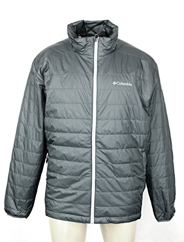 Columbia Men's Crested Butte Omni-Heat Jacket-GREY (M)