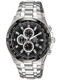 Casio Men's Edifice EF539D-1AV Black Stainless-Steel Quartz Watch
