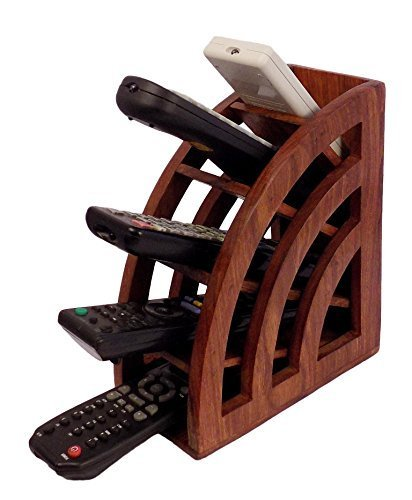 Price Tracking For Wooden Multi Remote Control Holder