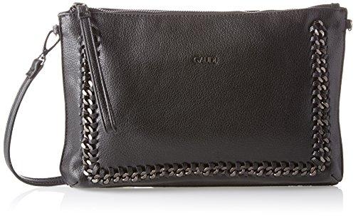 Gaudì Clutch - Linea Agata - Cm.32x21,50x3 - Bolso de mano Mujer Negro (Black)