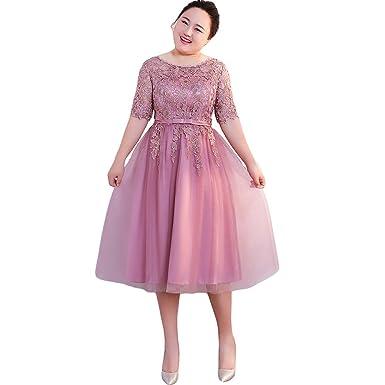 420b68affd046 パーティードレス 大きいサイズ ミモレ 締め上げタイプ 二次会 花嫁 ドレス ワンピース 結婚式 ドレス 袖