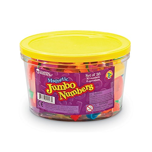 Learning Resources Jumbo Magnetic ()