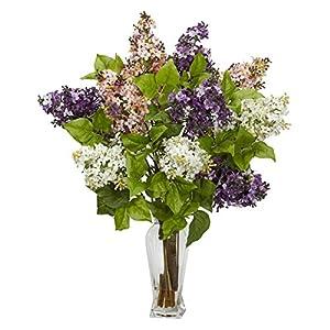 Lilac Silk Flower Arrangement 52