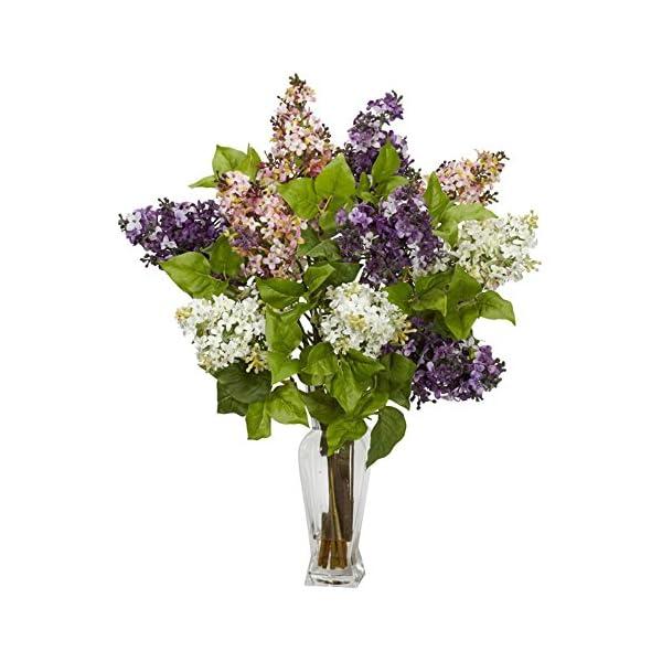 Lilac-Silk-Flower-Arrangement