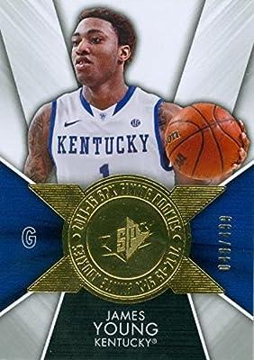James Young Basketball Card (Kentucky Wildcats) 2014 Upper Deck Finite Rookies #FI-JY 40/499