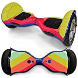 Sandistore Protective Vinyl Skin Decal for 10in Self Balancing Scooter Hoverboard 2 Wheels (B)