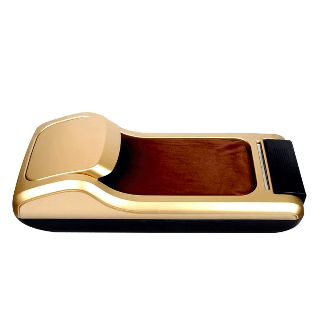 Home Office Disposable Shoe Film Machine ABS Slip to Send A Roll of Shoes 60 26 18cm (Color : Gold, Size : 602618)