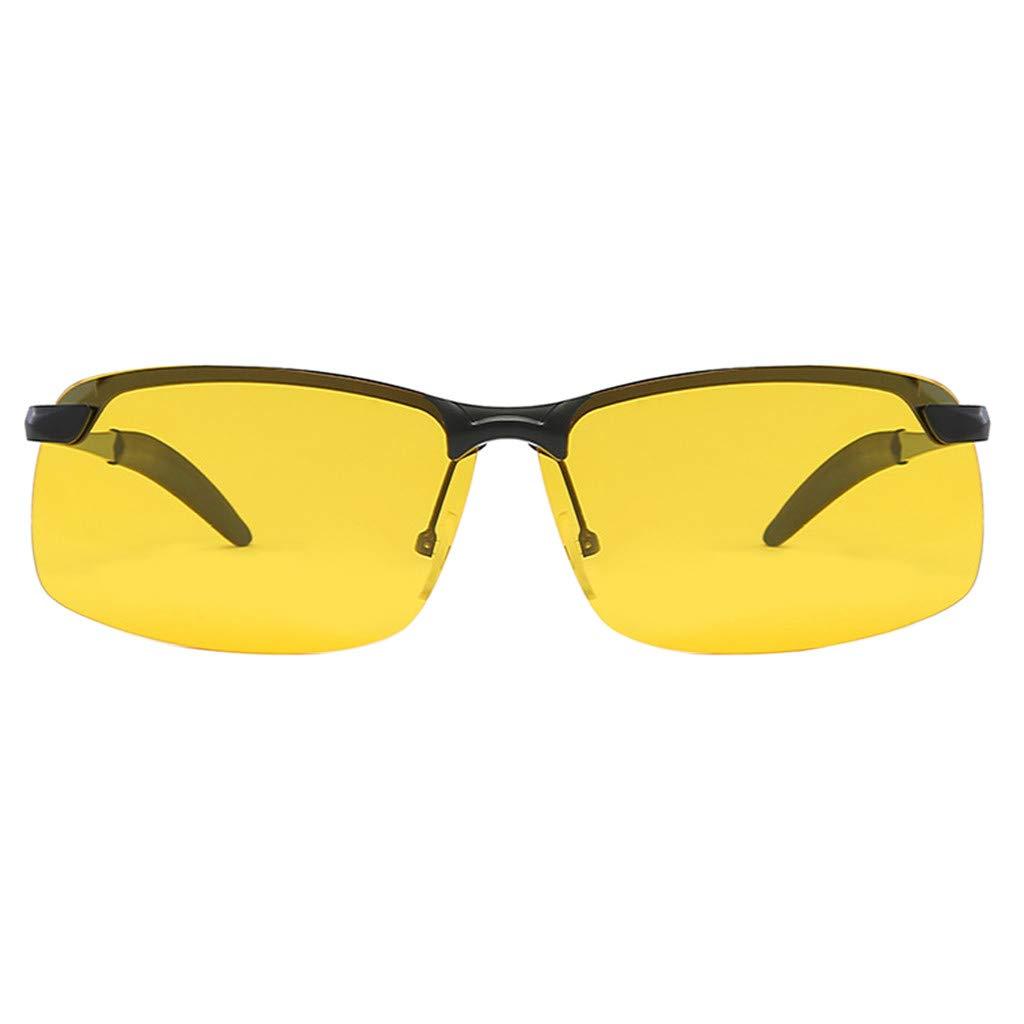 426dc156489 Amazon.com: 2019 new frame HD Aluminium Polarized Sunglasses Men ...