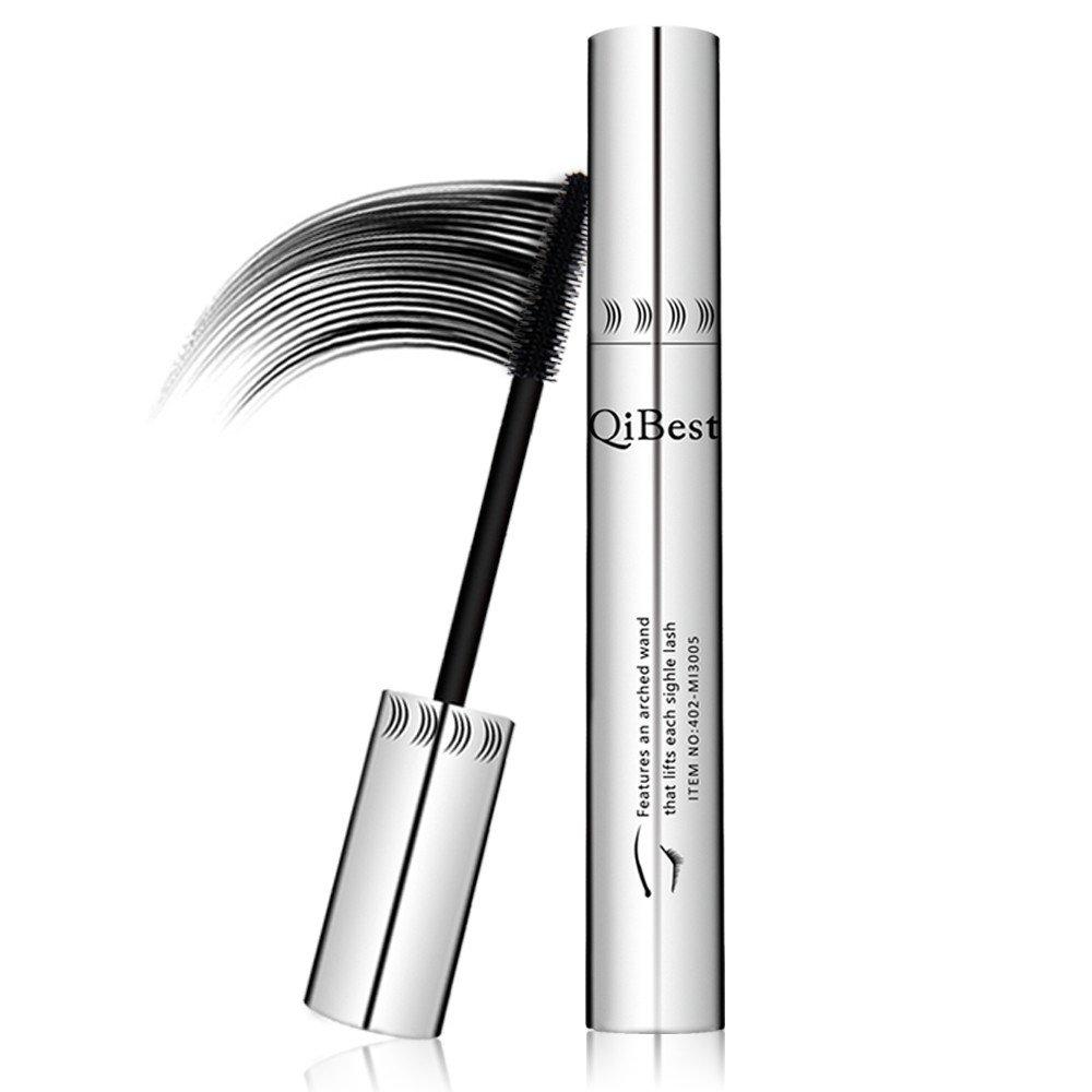ErYao Qibest Lengthening Eyelashes Fiber Lash Eyelash Growth Mascara (Black)