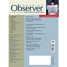 Canadian Observer V1N1