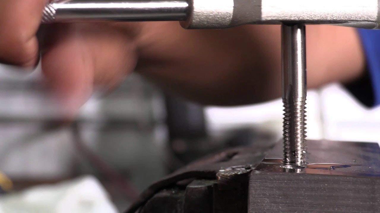 T//A Series Drill America 6-32 High Speed Steel Tap Set