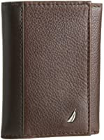 Nautica Men's Milled Trifold Wallet