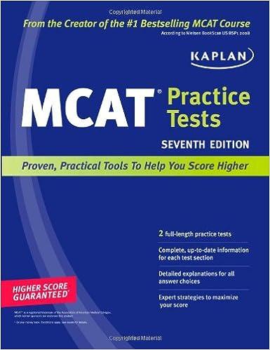 Kaplan MCAT Practice Tests: 9781419553578: Medicine & Health Science