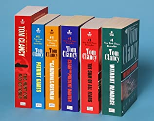 book cover of Tom Clancy\'s Jack Ryan Books 1-6
