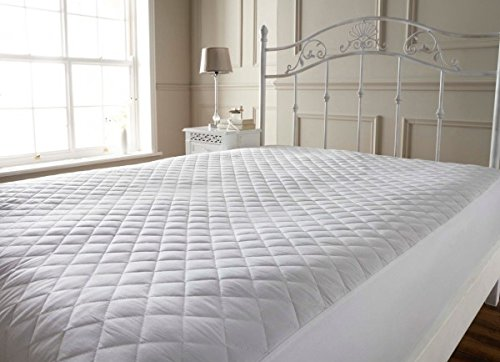 Highliving Quilted Mattress Protector, Extra Deep, All Sizes (King (152 × 200 cm))