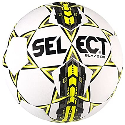 Select Blaze - Balón de fútbol para Adulto, Unisex, Color Blanco y ...