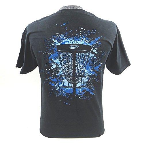 Innova Splash Basket Short Sleeve Disc Golf T-Shirt - Black Large