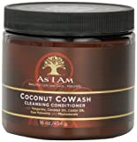 Cleansing Conditioner - As I Am Coconut Cowash Cleansing Conditioner, 16 Ounce