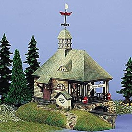 Department 56 Still Waters Boathouse: Seasons Bay 53414