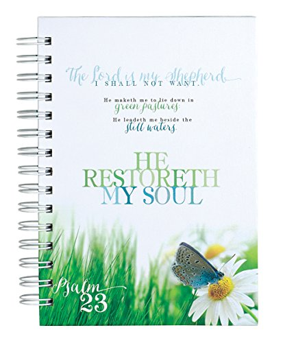 (Psalm 23 He Restoreth My Soul Journal Notebook)