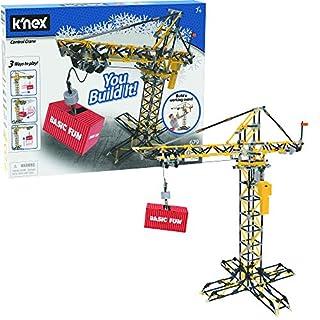 K'NEX Control Crane Building Set - 679 Parts - Working Motorized Crane - Ages 7 & Up