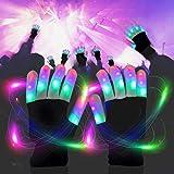 LED Light up Gloves Finger Light Gloves for Kids
