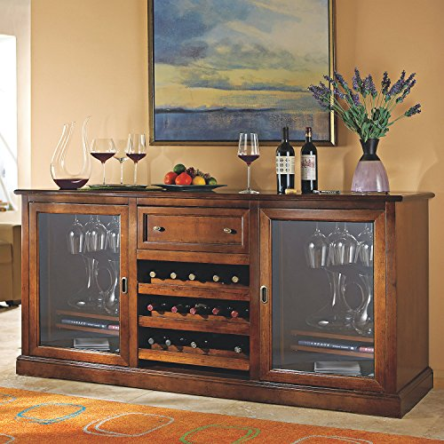 Siena Wine Credenza - Wine Refrigerator Credenza