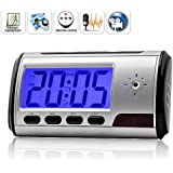 Multi function spy digital clock with hidden camera