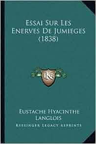 essai sur les enerves de jumieges 1838 french edition eustache hyacinthe langlois. Black Bedroom Furniture Sets. Home Design Ideas