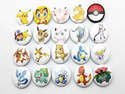 NEW-20pcs-Pokemon-Children-Badge-Button-Pin-Kid-Toyparty-Gifts