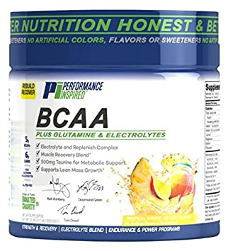 Performance Inspired Nutrition BCAA Plus, Pineapple Mango Delight, 1.46 Pound