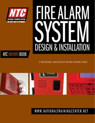 ntc brown book fire alarm systems design amp installation a