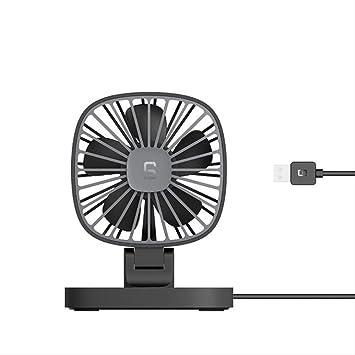 PMWLKJ CARPRIE USB Gadgets para automóviles Ventilador Recargable ...