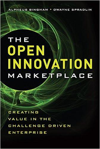 The open innovation marketplace creating value in the challenge the open innovation marketplace creating value in the challenge driven enterprise alpheus bingham dwayne spradlin 9780132311830 amazon books fandeluxe Gallery