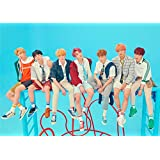 Fanstown Kpop BTS Bangtan Boys Poster Love Yourself 結 'Answer' 16.5 x 11.7 inch A3 Size Thicken Coated Paper (I25)