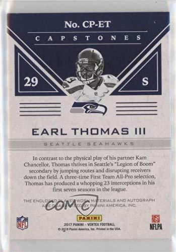 Amazon.com: Earl Thomas III #87/99 (Football Card) 2017 Panini Vertex - Capstones #CP-ET: Collectibles & Fine Art