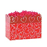 Small Layered Hearts Basket Boxes - 6.75 x 4 x 5in. 42 Pack