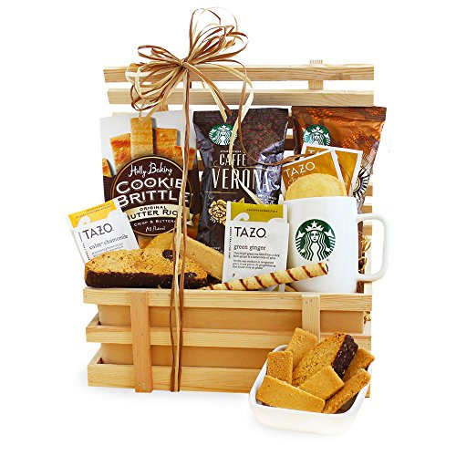 California Delicious Starbucks Gift Crate, Pick Me Up