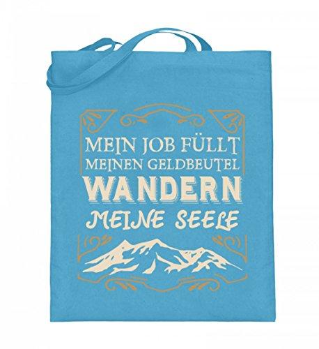 Shirtee JYH9IWE7_XT003_38cm_42cm_5739 - Bolso de tela de algodón para mujer Azul azul 38cm-42cm Azul Claro