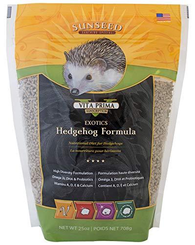 Sunseed 40060 Vita Prima Sunscription Exotics Hedgehog Food - High-Variety Formula - 25 OZ.