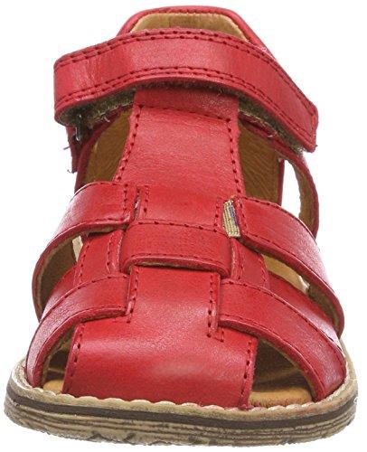 Froddo Children Sandal G3150101-7, Sandalias con Punta Cerrada Unisex Niños Rot (Red)