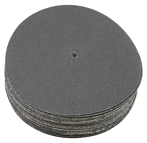 Sungold Abrasives 87408 Plain Backed Edger Sanding Discs for Floor Sanders 120 Grit Heavyweight Silicon Carbide Paper with 7
