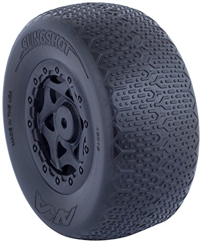 AKA Typo Wide SC Pre-Mounted Tires (SC5M) (2) (Black) (Ultra ()