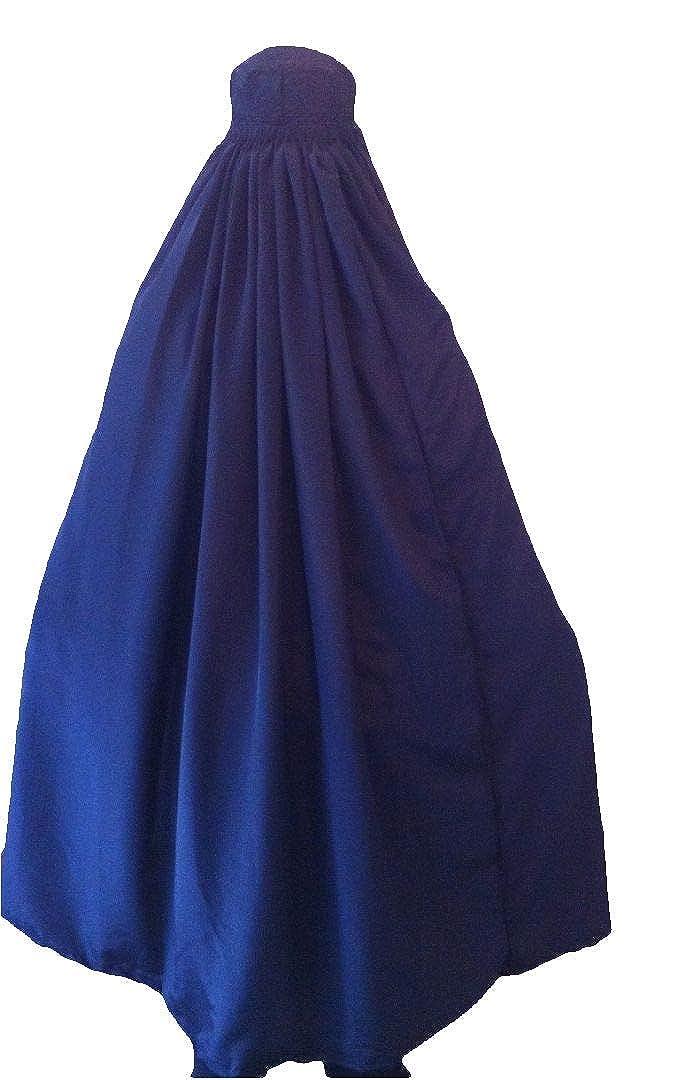 Burka/abaya afgano auténtico para mujer, color negro, azul ...