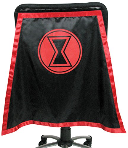 Entertainment Earth Black Widow Chair Capes