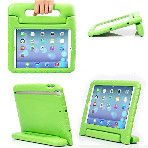 eTopxizu Shockproof Case Light Weight Kids Case for iPad 4, iPad 3 & iPad 2 2nd 3rd 4th Generation,iPad 2 3 4 Shockproof Case Super Protection Cover Handle Stand Case for Children - Green ()