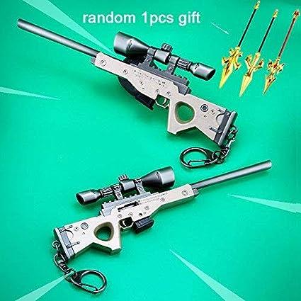 Amazon.com: mankecheng juegos metal 1/6 metal AWP Sniper ...